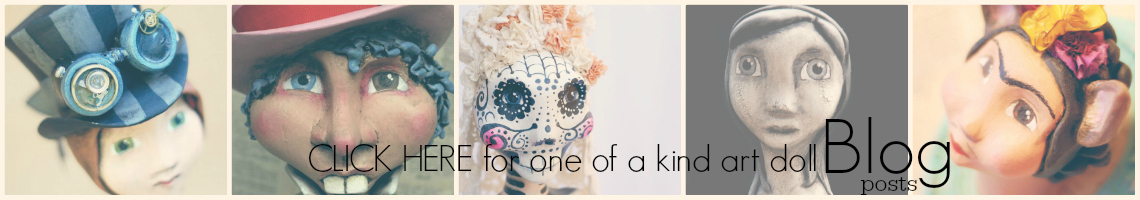 One of a Kind Art Dolls